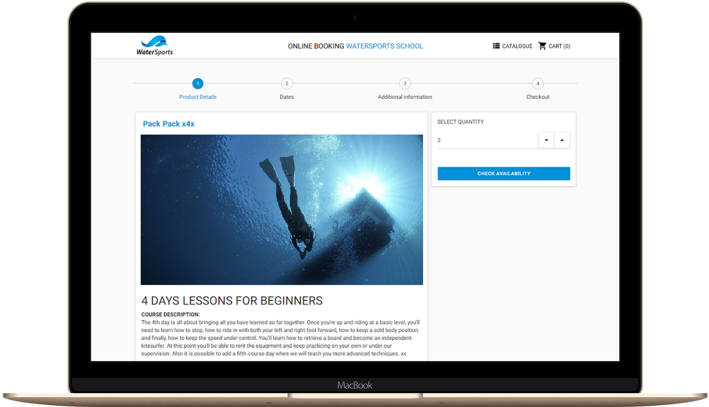 Management Software and Online Booking for Dive Centers