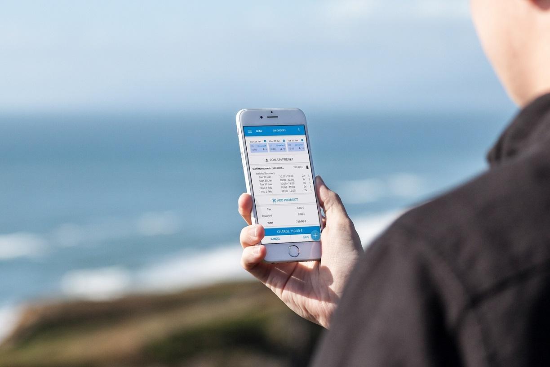 Gestion réservation sur mobile