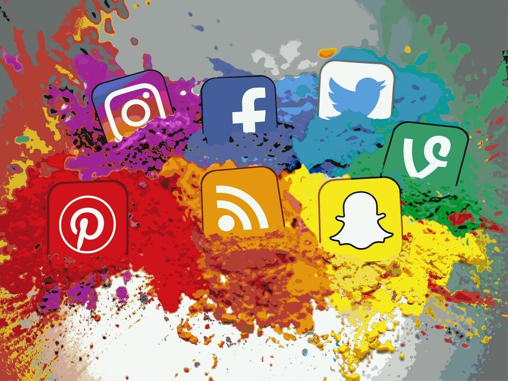 social media iconos